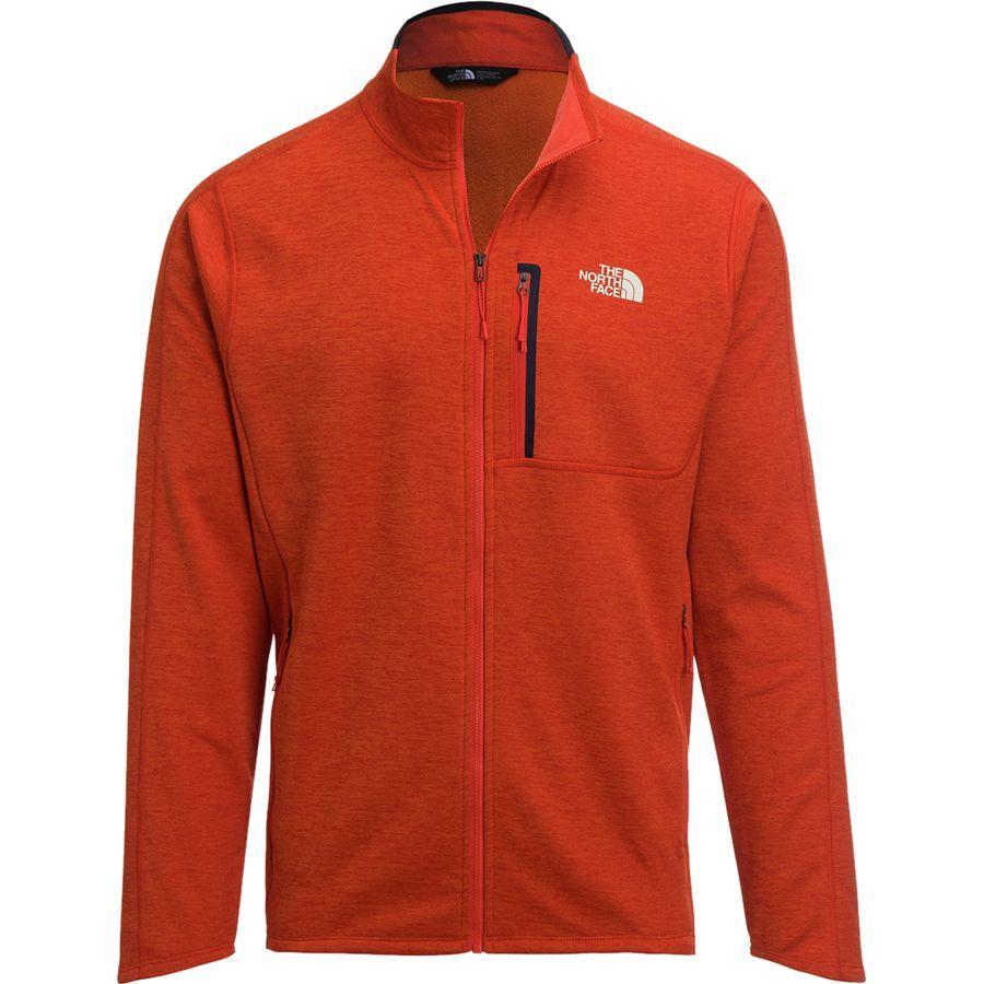 (取寄)ノースフェイス メンズ キャニオンランズ フリース ジャケット The North Face Men's Canyonlands Fleece Jacket Zion Orange Heather