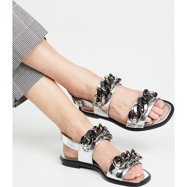 (取寄)トリーバーチ レディース エイドリアン サンダル Tory Burch Women's Adrien Sandals Silver