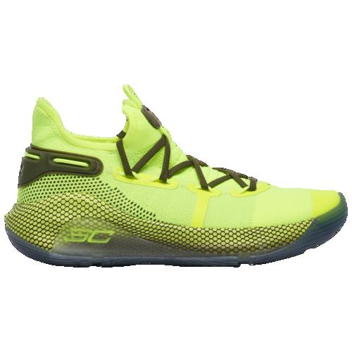 (取寄)アンダーアーマー メンズ カリー 6 ステファン カリー Underarmour Men's Curry 6 Stephen Curry Hi-Vis Yellow Ambrosia Guardian Green