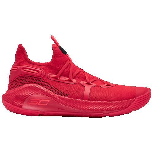 (取寄)アンダーアーマー メンズ カリー 6 ステファン カリー Underarmour Men's Curry 6 Stephen Curry Red Black Red Rage