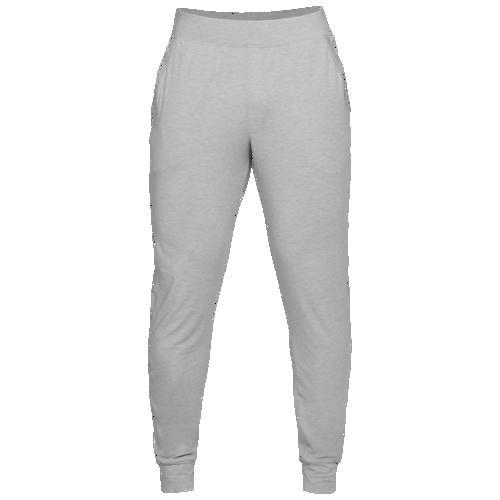 (取寄)アンダーアーマー メンズ リカバリー スリープウェア ジョガー Underarmour Men's Recovery Sleepwear Jogger Mod Grey Metallic Silver