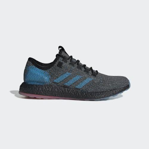 (取寄)アディダス メンズ ピュアブースト Ltd ランニングシューズ adidas Men's Pureboost LTD Shoes Core Black / Core Black / Active Red
