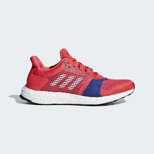 (取寄)アディダス レディース ウルトラブースト St ランニングシューズ adidas Women Ultraboost ST Shoes Shock Red / Cloud White / Active Pink