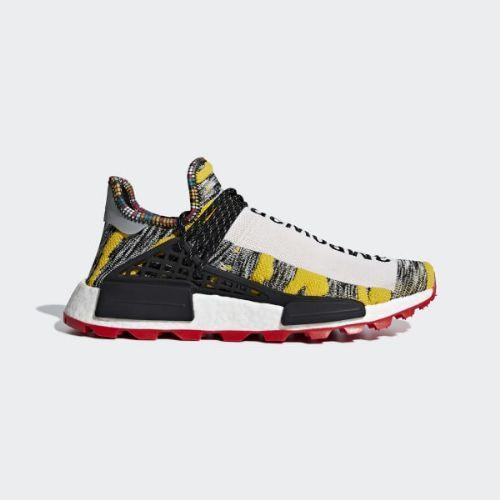(取寄)アディダス オリジナルス メンズ ファレル ウィリアムズ ソーラーHu NMD スニーカー adidas originals Men's Pharrell Williams SOLARHU NMD Shoes Black / Core Black / Red