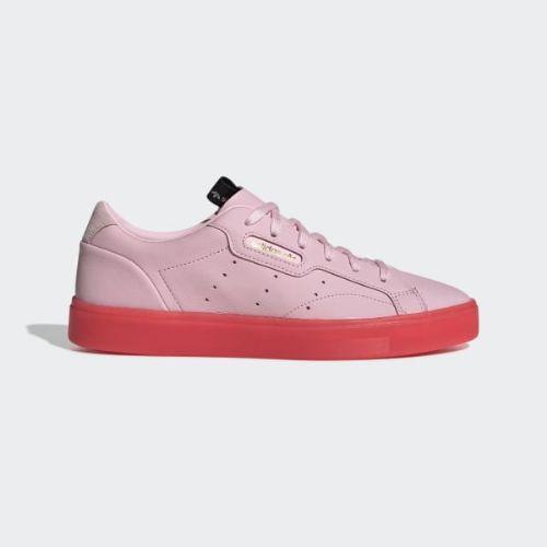 (取寄)アディダス オリジナルス レディース アディダス スリーク スニーカー adidas originals Women adidas Sleek Shoes Diva / Diva / Red