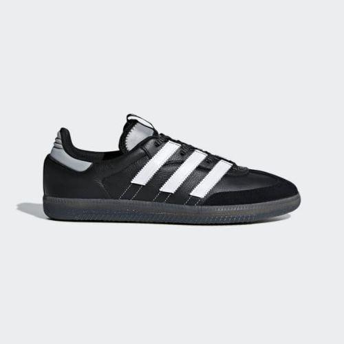 (取寄)アディダス オリジナルス メンズ サンバ OG MS スニーカー adidas originals Men's Samba OG MS Shoes Core Black / Cloud White / Silver Metallic