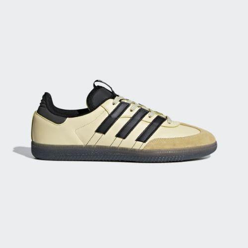 (取寄)アディダス オリジナルス メンズ サンバ OG MS スニーカー adidas originals Men's Samba OG MS Shoes Easy Yellow / Core Black / Cloud White