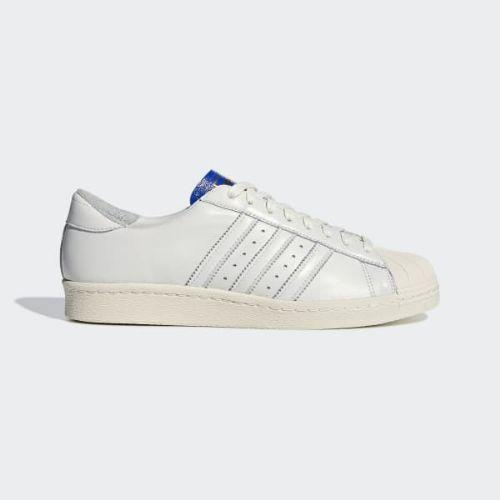 (取寄)アディダス オリジナルス メンズ スーパースター BT スニーカー adidas originals Men's Superstar BT Shoes Cloud White / Cloud White / Collegiate Royal