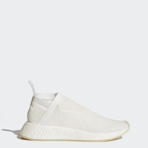 (取寄)アディダス オリジナルス レディース エヌエムディー プライムニット スニーカー adidas originals Women NMD_CS2 Primeknit Shoes Core White / Core White / Cloud White