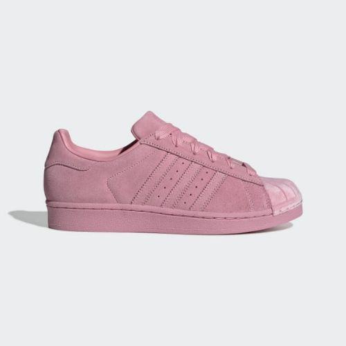 (取寄)アディダス オリジナルス レディース スーパースター スニーカー adidas originals Women Superstar Shoes Clear Pink / Clear Pink / Clear Pink