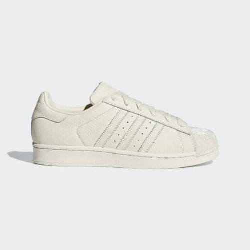 (取寄)アディダス オリジナルス レディース スーパースター スニーカー adidas originals Women Superstar Shoes Off White / Off White / Off White