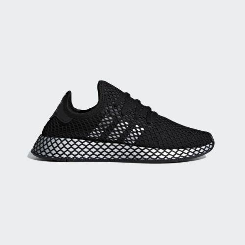 (取寄)アディダス オリジナルス レディース ディーラプト ランナー スニーカー adidas originals Women Deerupt Runner Shoes Core Black / Silver Metallic / Core Black