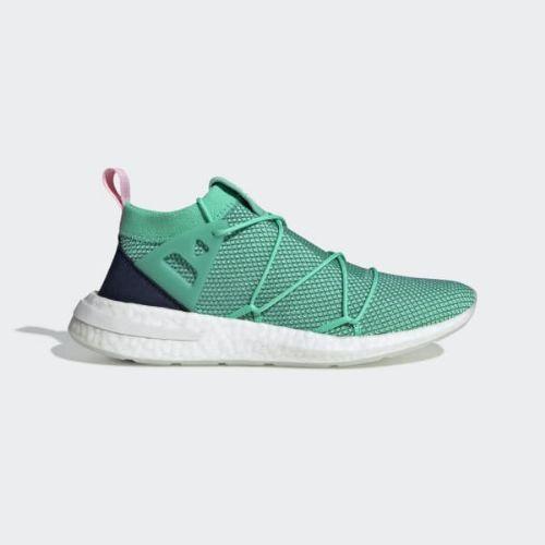 (取寄)アディダス オリジナルス レディース アーキン ニット スニーカー adidas originals Women Arkyn Knit Shoes Hi-Res Green / True Green / True Pink