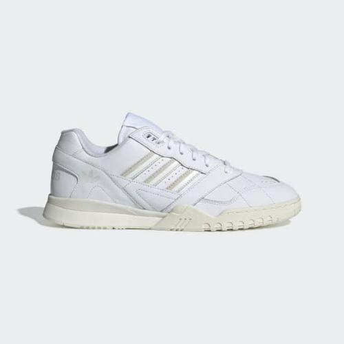 (取寄)アディダス オリジナルス メンズ A.R.トレーナー スニーカー adidas originals Men's A.R. Trainer Shoes Cloud White / Raw White / Off White
