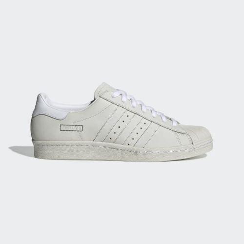 (取寄)アディダス オリジナルス メンズ スーパースター 80s スニーカー adidas originals Men's Superstar 80s Shoes Cloud White / Cloud White / Raw White