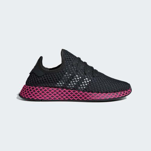 (取寄)アディダス オリジナルス レディース ディーラプト ランナー スニーカー adidas originals Women Deerupt Runner Shoes Carbon / Core Black / Shock Pink