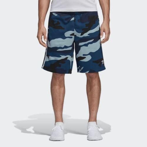 (取寄)アディダス オリジナルス メンズ カモフラージュ ショーツ adidas originals Men's Camouflage Shorts Multicolor / Collegiate Navy