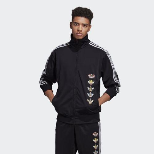 (取寄)アディダス オリジナルス メンズ タナアミ ファイヤーバード トラック ジャケット adidas originals Men's Tanaami Firebird Track Jacket Black