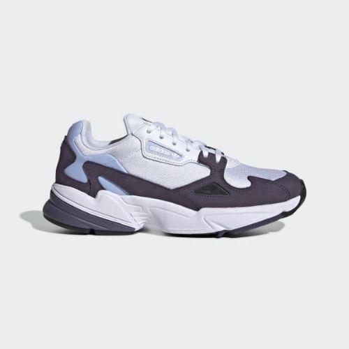 (取寄)アディダス オリジナルス レディース ファルコン スニーカー adidas originals Women Falcon Shoes Trace Purple / Cloud White / Periwinkle