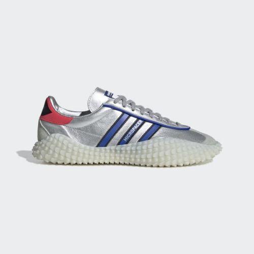 (取寄)アディダス スニーカー オリジナルス/ メンズ カントリーxカマンダ スニーカー adidas originals adidas Men's CountryxKamanda Shoes Silver Metallic/ Powder Blue/ Shock Red, Lingerie Labo:892f2587 --- cgt-tbc.fr