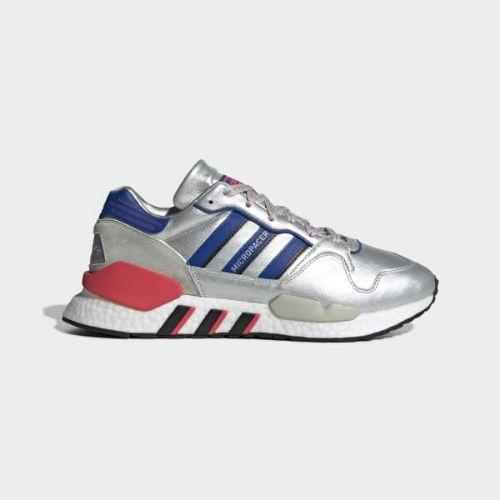 (取寄)アディダス オリジナルス メンズ ZX930×EQT スニーカー adidas originals Men's ZX930xEQT Shoes Silver Metallic / Powder Blue / Shock Red