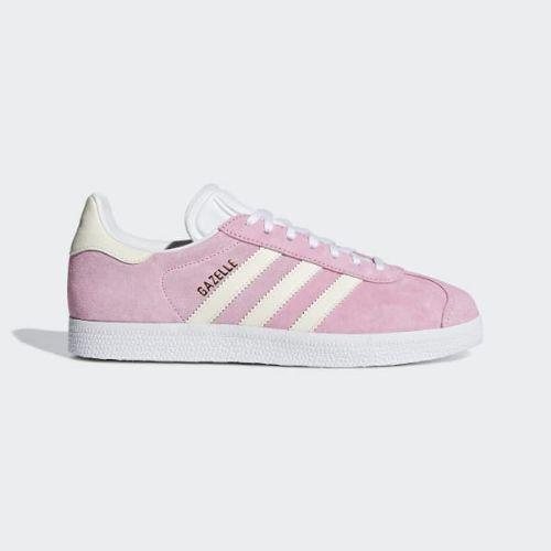 (取寄)アディダス オリジナルス レディース ガゼル スニーカー adidas originals Women Gazelle Shoes True Pink / Ecru Tint / Cloud White