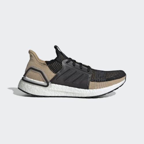 (取寄)アディダス メンズ ウルトラブースト 19 ランニングシューズ adidas Men's Ultraboost 19 Shoes Core Black / Raw Sand / Grey