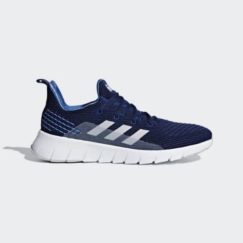 (取寄)アディダス メンズ オズウィーゴ ランニングシューズ adidas Men's Asweego Shoes Blue / Grey / Collegiate Royal