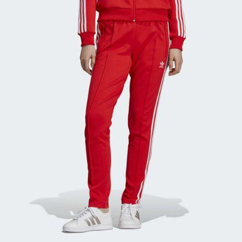 (取寄)アディダス オリジナルス レディース V デイ SST トラック パンツ adidas originals Women V-Day SST Track Pants Active Red