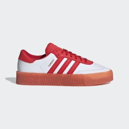 (取寄)アディダス オリジナルス レディース フィオルッチ サンバローズ スニーカー adidas originals Women Fiorucci SAMBAROSE Shoes Red / Core Black / Red