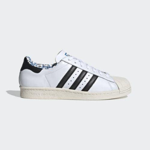(取寄)アディダス オリジナルス メンズ HAGT スーパースター 80s スニーカー adidas originals Men's HAGT Superstar 80s Shoes Cloud White / Core Black / Chalk White