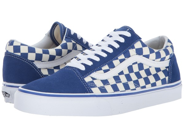(取寄)Vans(バンズ) スニーカー オールド スクール ユニセックス メンズ レディース Vans Unisex Old Skool (Primary Check) True Blue/White