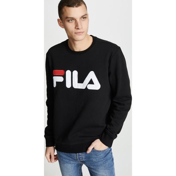 (取寄)フィラ レゴラ スウェットシャツ FILA Regola Sweatshirt Black