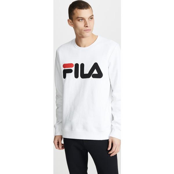(取寄)フィラ レゴラ スウェットシャツ FILA Regola Sweatshirt White