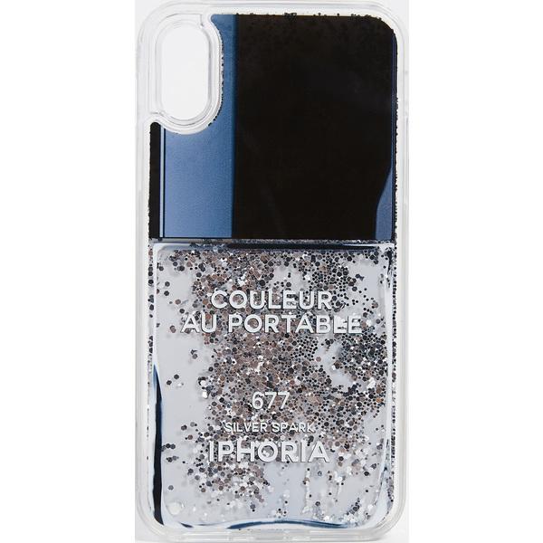 【クーポンで最大2000円OFF】(取寄)アイフォリア ネイル ポリッシュ アイフォン X ケース Iphoria Nail Polish iPhone X Case Grey