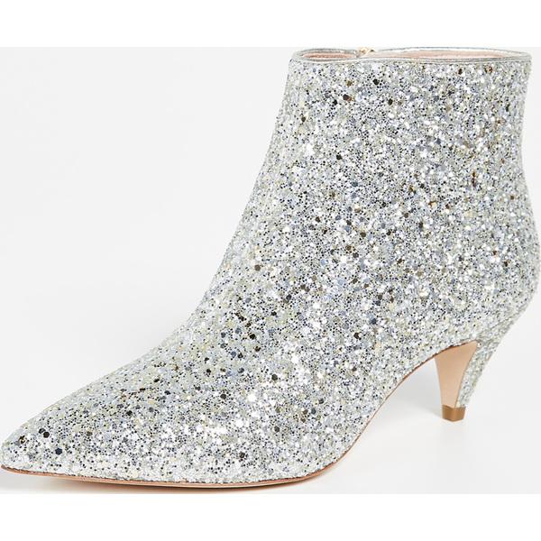 (取寄)ケイトスペード レディース スタン グリッター ブーティ Kate Spade New York Women's Stan Glitter Booties Silver
