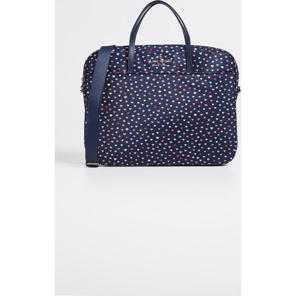 【クーポンで最大2000円OFF】(取寄)ケイトスペード リップス ユニバーサル ナイロン スリム コミューター バッグ Kate Spade New York Lips Universal Nylon Slim Commuter Bag NavyMulti