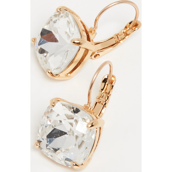 (取寄)ケイトスペード スモール スクエア レバーバック ピアス Kate Spade New York Small Square Leverback Earrings Clear