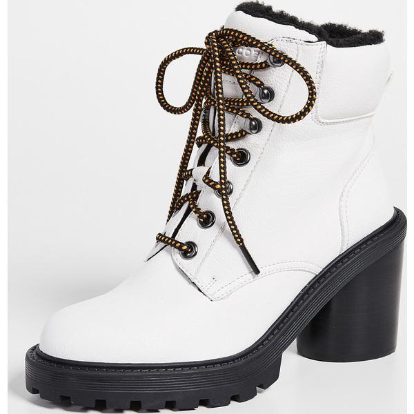 (取寄)マークジェイコブス レディース クロスビー ハイキング ブーツ Marc Jacobs Women's Crosby Hiking Boots White