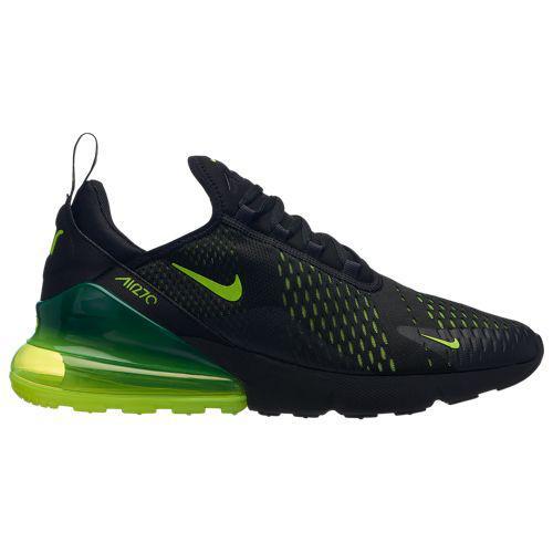 ナイキ メンズ エア マックス 270 Nike Men's Air Max 270 Black Volt Black Oil Grey