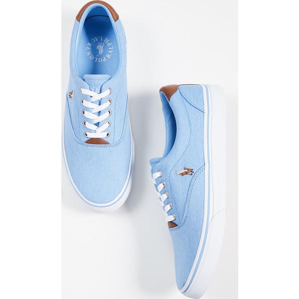 (取寄)ポロ ラルフローレン ソートン スニーカー Polo Ralph Lauren Thorton Sneakers CollinBlue
