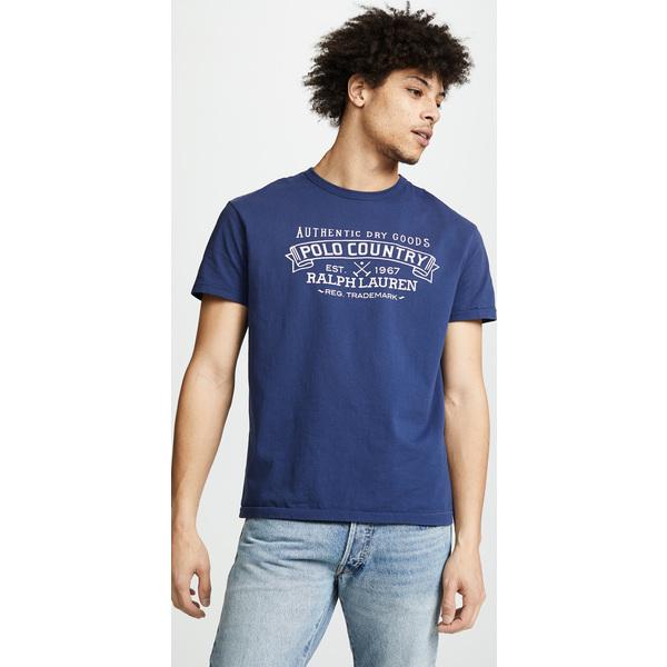 (取寄)ポロ ラルフローレン グレート アウトドア ポロ カントリー ティー シャツ Polo Ralph Lauren Great Outdoors Polo Country Tee Shirt DarkCobalt, R&K リサイクルキング f8e647ca