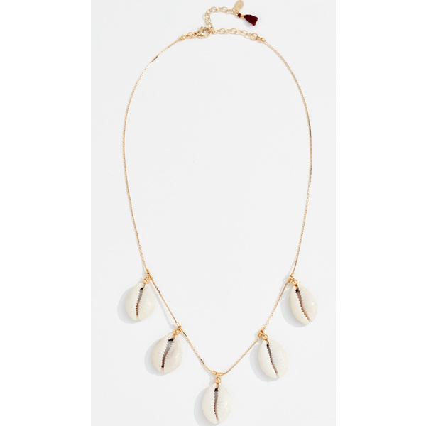 (取寄)シャシ キャロライン チャーム ネックレス Shashi Caroline Charm Necklace Gold