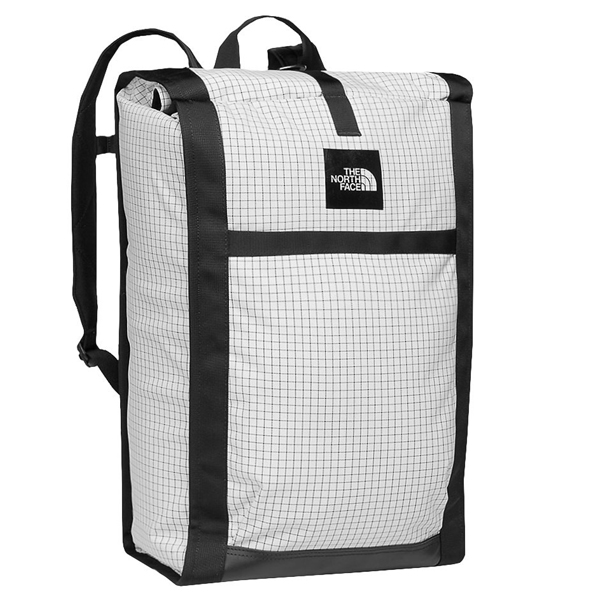 ノースフェイス ホームステッド ロードソーダ 43L バックパック The North Face Men's Homestead Roadsoda Backpack Tnf White Ripstop Tnf Black