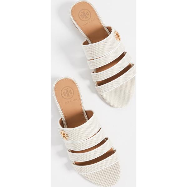 (取寄)トリーバーチ レディース キラ マルチバンド サンダル Tory Burch Women's Kira Multiband Sandals Natural PerfectIvory