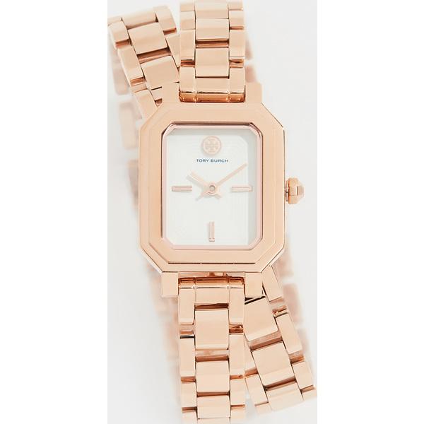【クーポンで最大2000円OFF】(取寄)トリーバーチ ロビンソン ミニ ブレスレット ウォッチ 22mm Tory Burch Robinson Mini Bracelet Watch, 22mm RoseGold