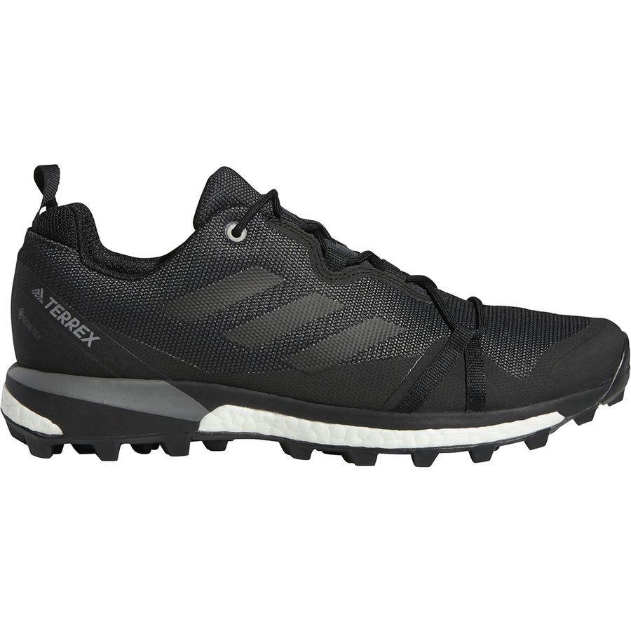 【クーポンで最大2000円OFF】(取寄)アディダス メンズ アウトドア テレックス スカイチェイサー LT Gtx ハイキングシューズ Adidas Men's Outdoor Terrex Skychaser LT GTX Hiking Shoe Carbon/Black/Grey Four