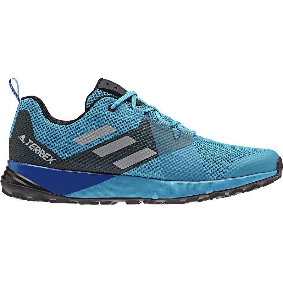 (取寄)アディダス メンズ アウトドア テレックス ツー トレイル ランニングシューズ Adidas Men's Outdoor Terrex Two Trail Running Shoe Shock Cyan/Grey Two/Black