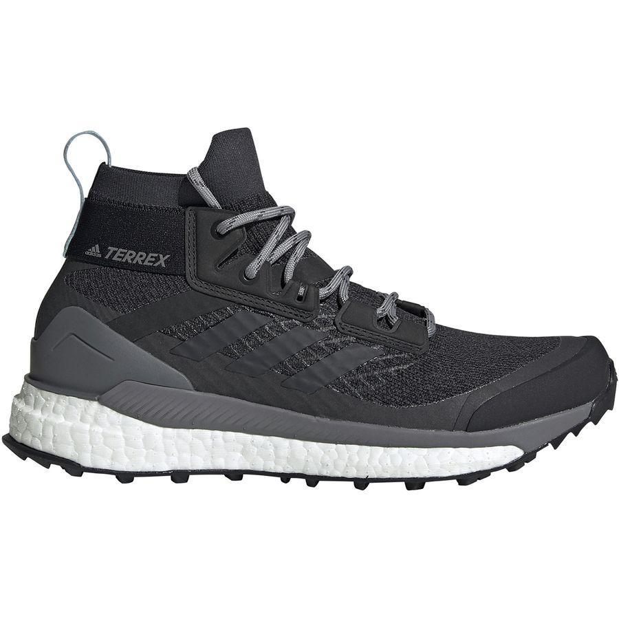 【クーポンで最大2000円OFF】(取寄)アディダス レディース アウトドア テレックス フリー ハイカー ブーツ Adidas Women Outdoor Terrex Free Hiker Boot Carbon/Blue Tint/Ash Grey