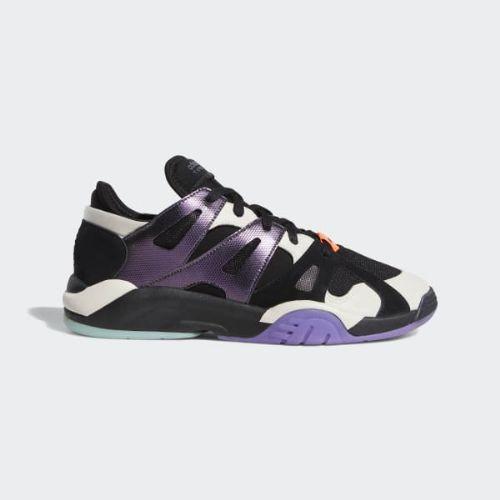 (取寄)アディダス オリジナルス メンズ ディメンション ロウ トップ シューズ adidas originals Men's Dimension Low Top Shoes Core Black / Raw White / Active Purple